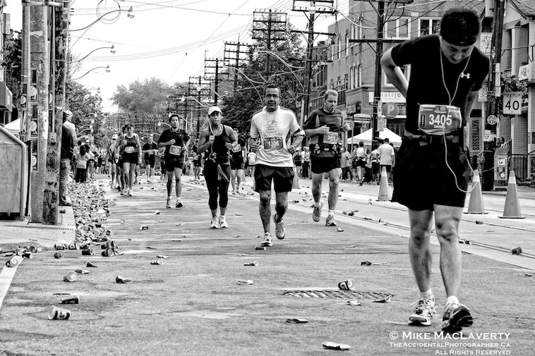 It's about Toronto's many Marathons.
