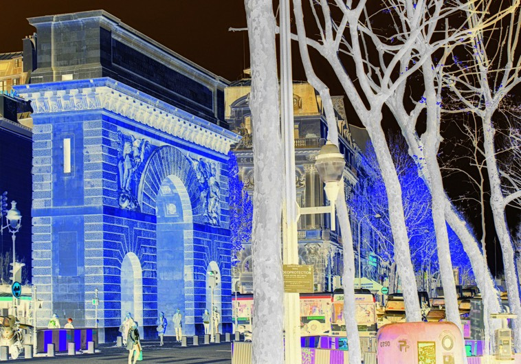 John Wallace - Inverted Reality - Boulevard St Denis