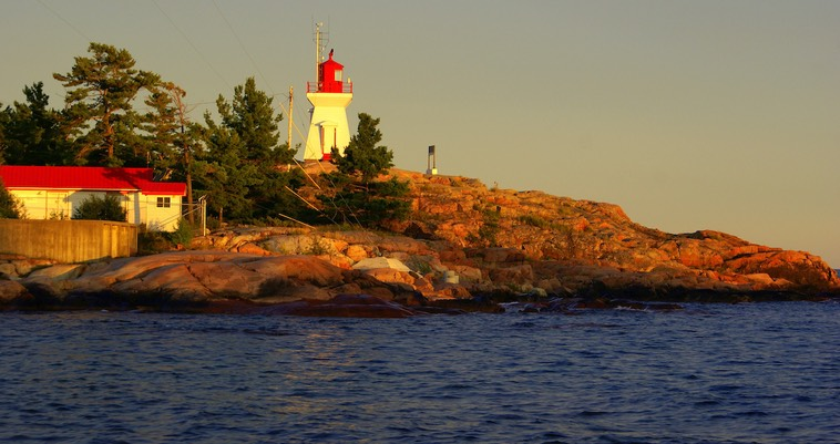 X24 Sunset At Killarney East Light - by Maureen Littlewood
